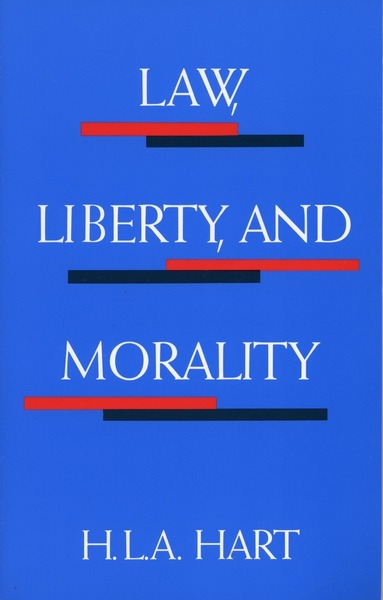 Cover of Law, Liberty, and Morality by H. L. A. Hart