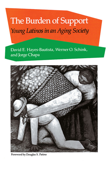 Cover of The Burden of Support by David E. Hayes-Bautista, Werner O. Schink, and Jorge Chapa