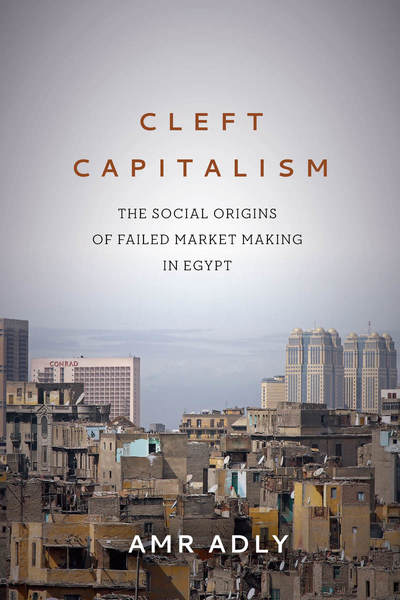 Cover of Cleft Capitalism by Amr Adly