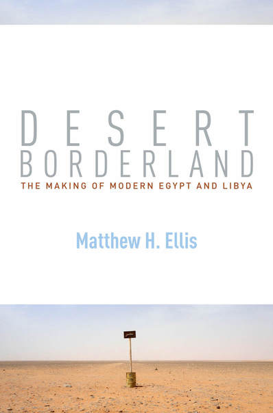 Cover of Desert Borderland by Matthew H. Ellis