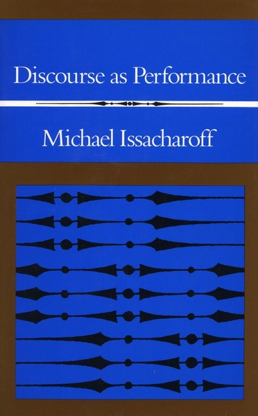 Cover of Discourse as Performance by Michael Issacharoff