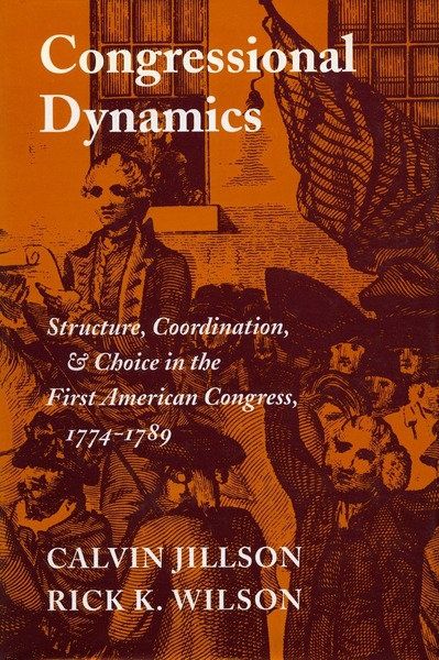 Cover of Congressional Dynamics by Calvin Jillson and Rick K. Wilson