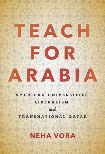 Cover of Teach for Arabia by Neha Vora