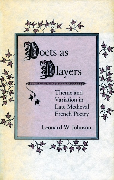 Cover of Poets as Players by Leonard W. Johnson