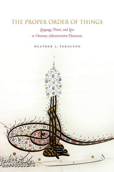 Cover of The Proper Order of Things by Heather L. Ferguson