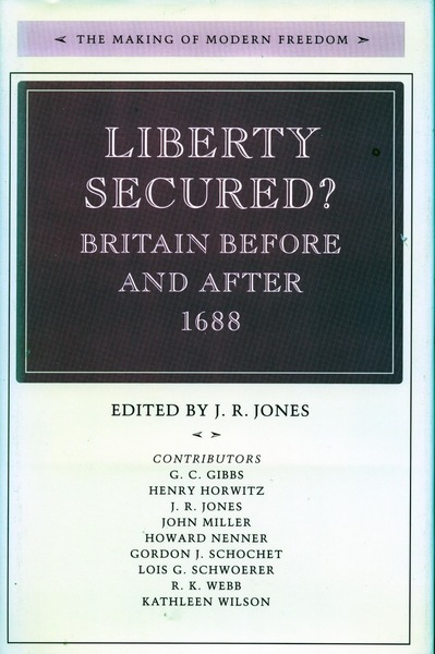 Cover of Liberty Secured? by Edited by J. R. Jones