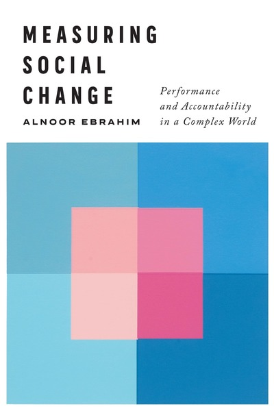 Cover of Measuring Social Change by Alnoor Ebrahim