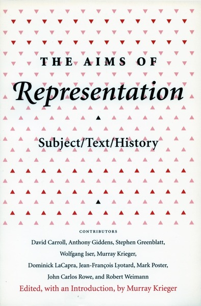 Cover of The Aims of Representation by Edited by Murray Krieger
