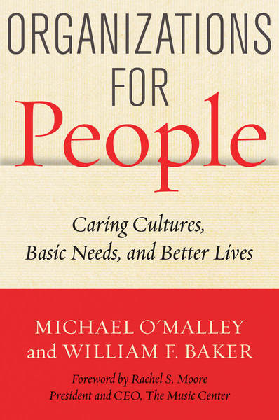 Cover of Organizations for People by Michael O