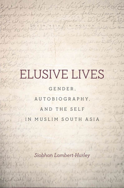 Cover of Elusive Lives by Siobhan Lambert-Hurley