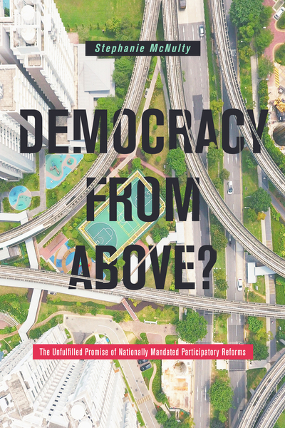 Cover of Democracy From Above? by Stephanie L. McNulty