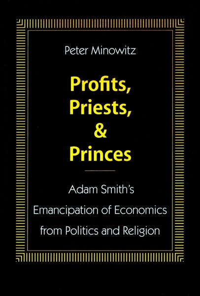 Cover of Profits, Priests, and Princes by Peter Minowitz