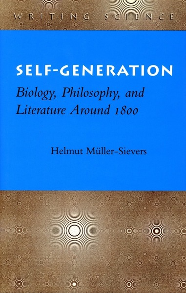 Cover of Self-Generation by Helmut Müller-Sievers