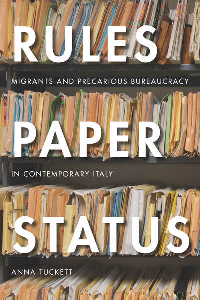 Cover of Rules, Paper, Status by Anna Tuckett