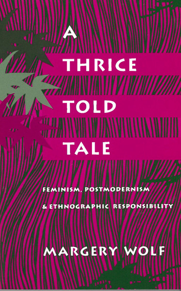 Cover of A Thrice-Told Tale by Margery Wolf