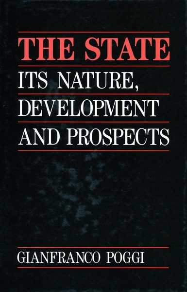Cover of The State by Gianfranco Poggi