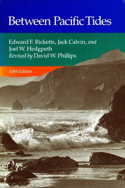 Cover of Between Pacific Tides by Edward F. Ricketts and Jack Calvin