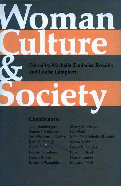Cover of Woman, Culture, and Society by Edited by Michelle Zimbalist Rosaldo and Louise Lamphere