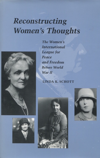 Cover of Reconstructing Women's Thoughts by Linda K. Schott