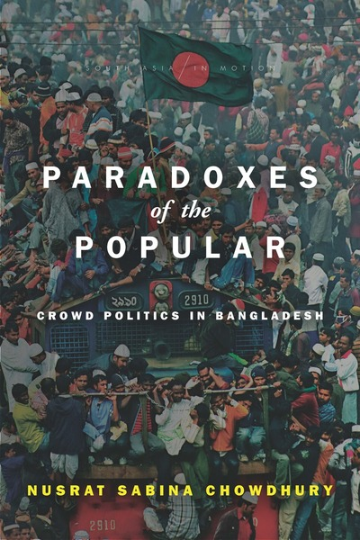 Cover of Paradoxes of the Popular by Nusrat Sabina Chowdhury