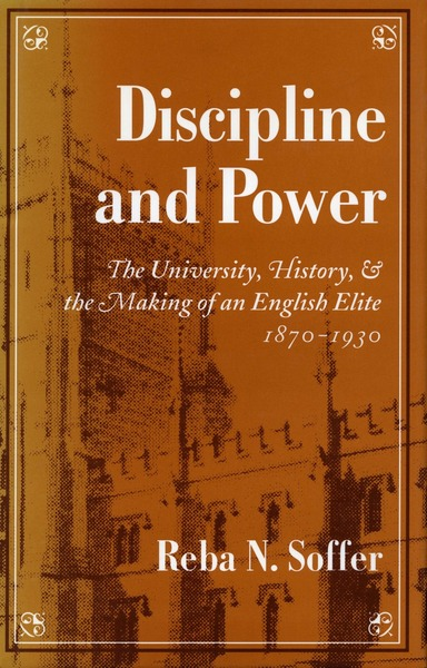 Cover of Discipline and Power by Reba N. Soffer