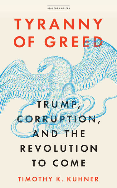 Cover of Tyranny of Greed by Timothy K. Kuhner