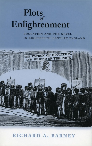 Cover of Plots of Enlightenment by Richard A. Barney
