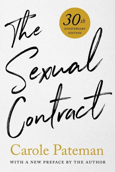 Cover of The Sexual Contract by Carole Pateman