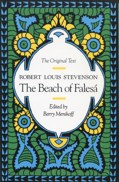 Cover of The Beach of Falesa by Robert Louis Stevenson Edited by Barry Menikoff
