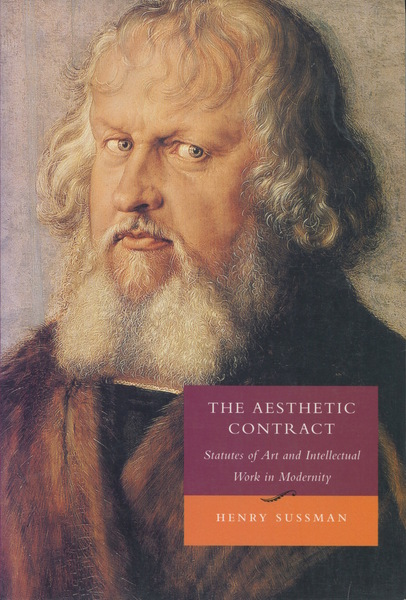 Cover of The Aesthetic Contract by Henry Sussman