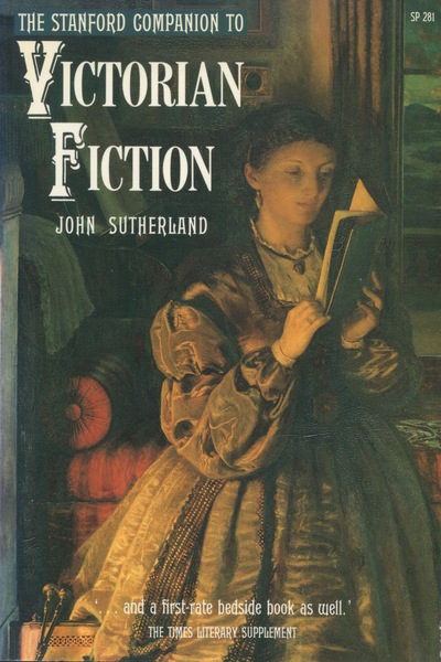 Cover of The Stanford Companion to Victorian Fiction by John Sutherland