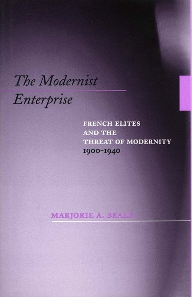 Cover of The Modernist Enterprise by Marjorie A. Beale