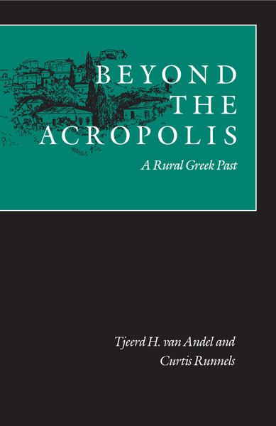 Cover of Beyond the Acropolis by Tjeerd H. van Andel and Curtis N.  Runnels