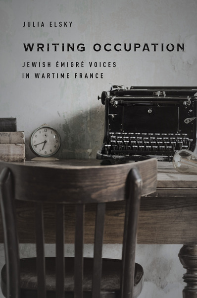 Cover of Writing Occupation by Julia Elsky