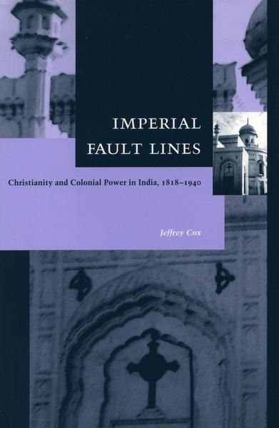Cover of Imperial Fault Lines by Jeffrey Cox