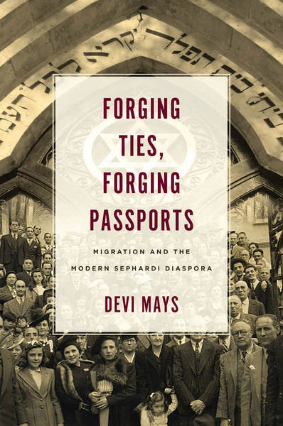Cover of Forging Ties, Forging Passports by Devi Mays