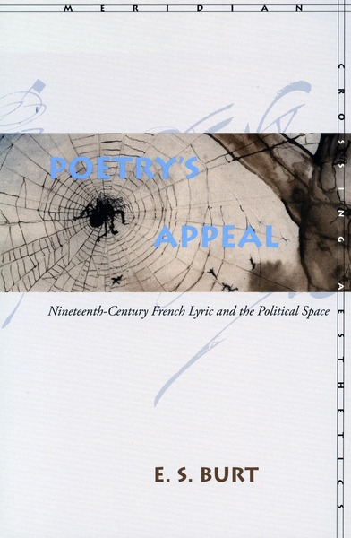 Cover of Poetry's Appeal by E. S. Burt
