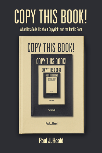 Cover of Copy This Book! by Paul J. Heald