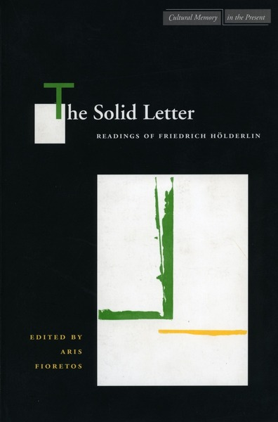 Cover of The Solid Letter by Edited by Aris Fioretos