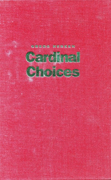 Cover of Cardinal Choices by Gregg Herken