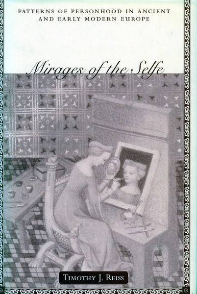 Cover of Mirages of the Selfe by Timothy J. Reiss