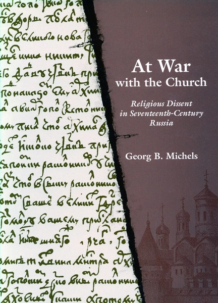 Cover of At War with the Church by Georg B. Michels