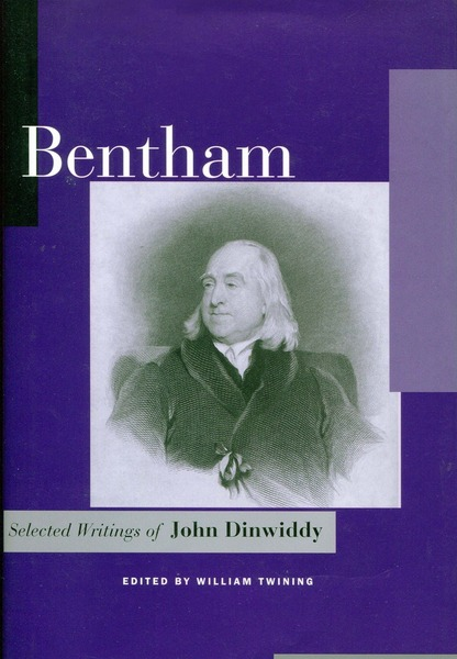 Cover of Bentham by Edited by William Twining