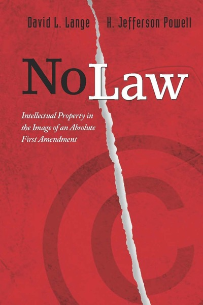 Cover of No Law by