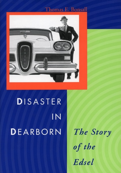 Cover of Disaster in Dearborn by Thomas E. Bonsall