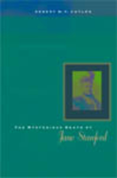 Cover of The Mysterious Death of Jane Stanford by Robert W. P. Cutler, M.D.
