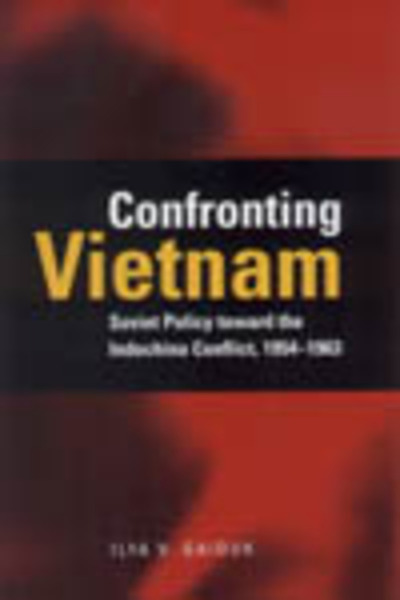 Cover of Confronting Vietnam by Ilya V. Gaiduk