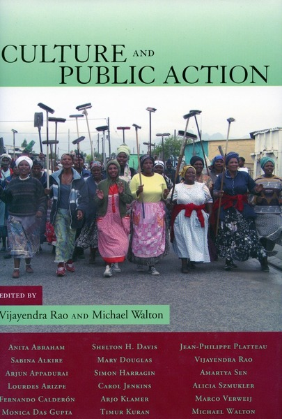 Cover of Culture and Public Action by Edited by Vijayendra Rao and Michael Walton