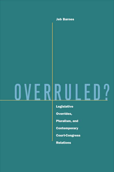 Cover of Overruled? by Jeb Barnes
