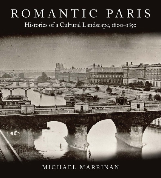 Cover of Romantic Paris by Michael Marrinan